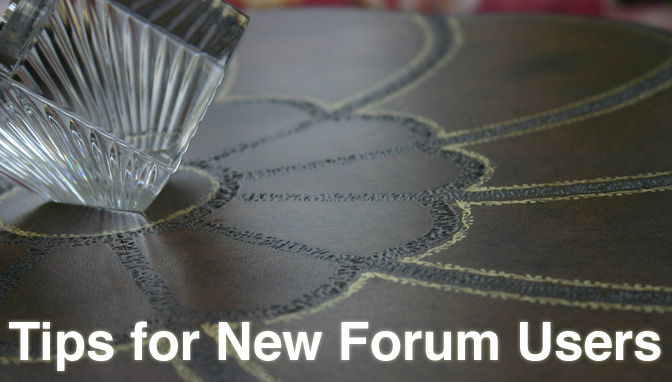Tips for New Forum Users