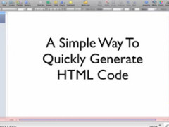 How To Easily Generate HTML Code Using WordPress [VIDEO]